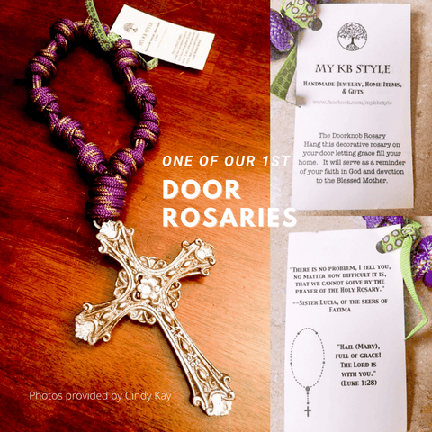 A First Door Rosary Knots of Grace