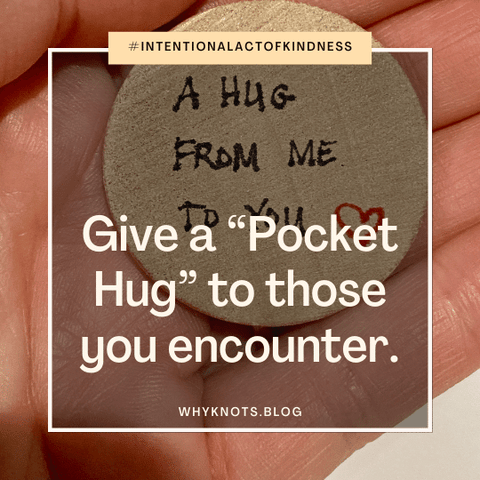 Pocket Hug Token; Knots of Grace; Why Knots Blog