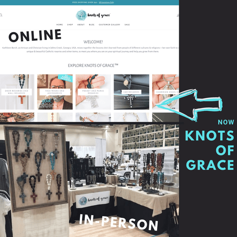 Knots of Grace Online and In Person