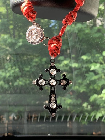 knots_of_grace Rearview Mirror Charm Product_title