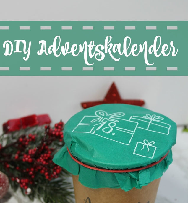 DIY Adventskalender: Becherparade 2.0