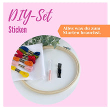 Laden Sie das Bild in den Galerie-Viewer, DIY-Set Sticken