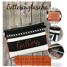 Laden Sie das Bild in den Galerie-Viewer, eBook Stifte-, Lettering- & Beautytasche alles in einem