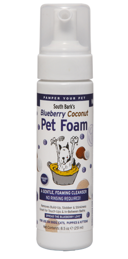 Blueberry-Coconut Pet Foam