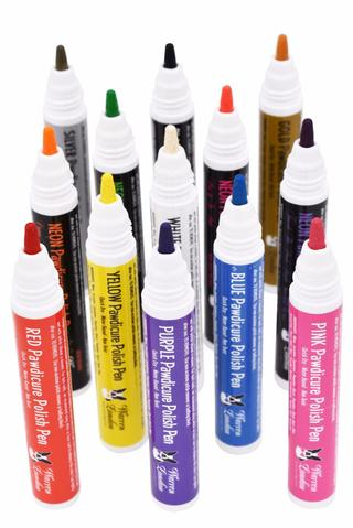 Pawdicure Polish Pens - All 13 Colors