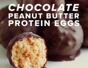 RECIPE: Chocolate Peanut Butter Protein Eggs
