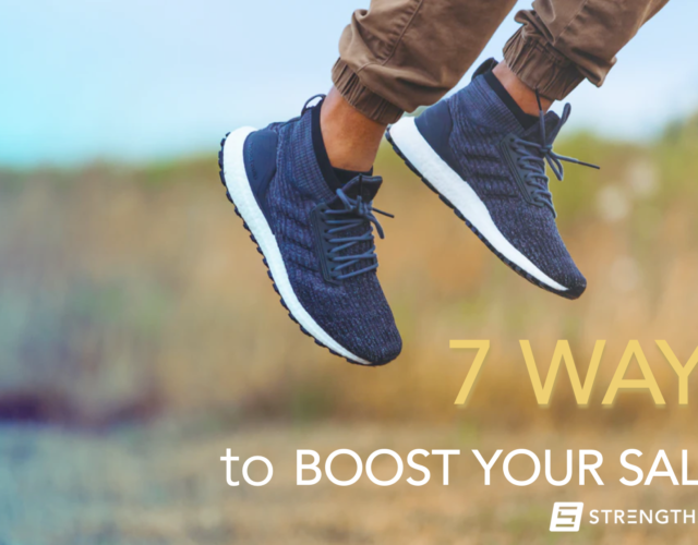 7 Ways in 7 Days To Boost Your Sales