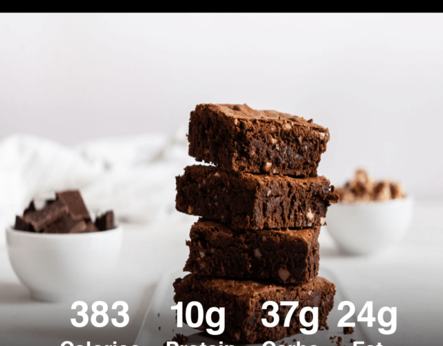 Easy Protein Brownies Recipe