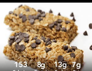 High Protein Granola Bars