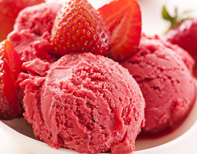 Strawberry Protein Sorbet Recipe