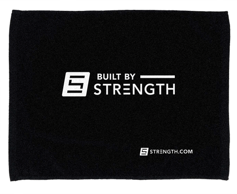 BuiltByStrength Light Cotton Towel