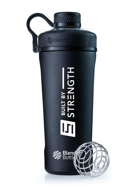 BuiltByStrength Insulated Stainless Steel Shaker