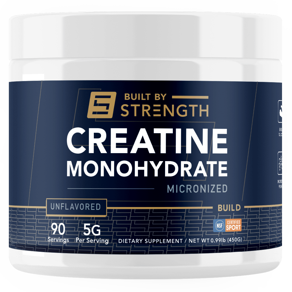 Built By Strength - Creatine Monohydrate Powder