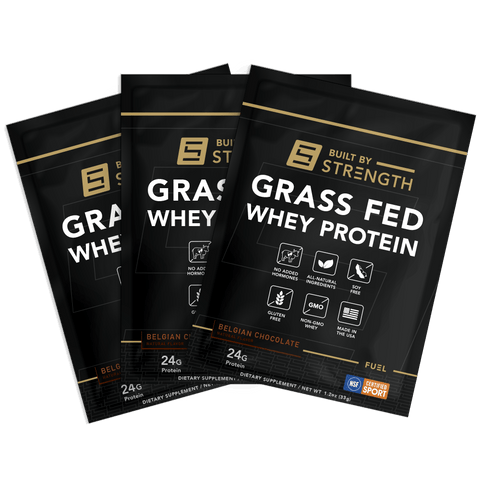 5 Pack of Grass-Fed Whey Protein Samples
