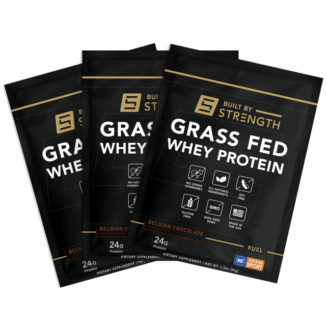 10-Pack Grass-Fed Whey Protein Samples