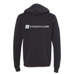 BuiltByStrength Zip Up Hoodie Sweatshirt