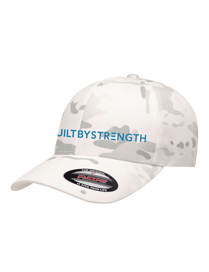 Built By Strength - Builtbystrength Fitted Camo Hat