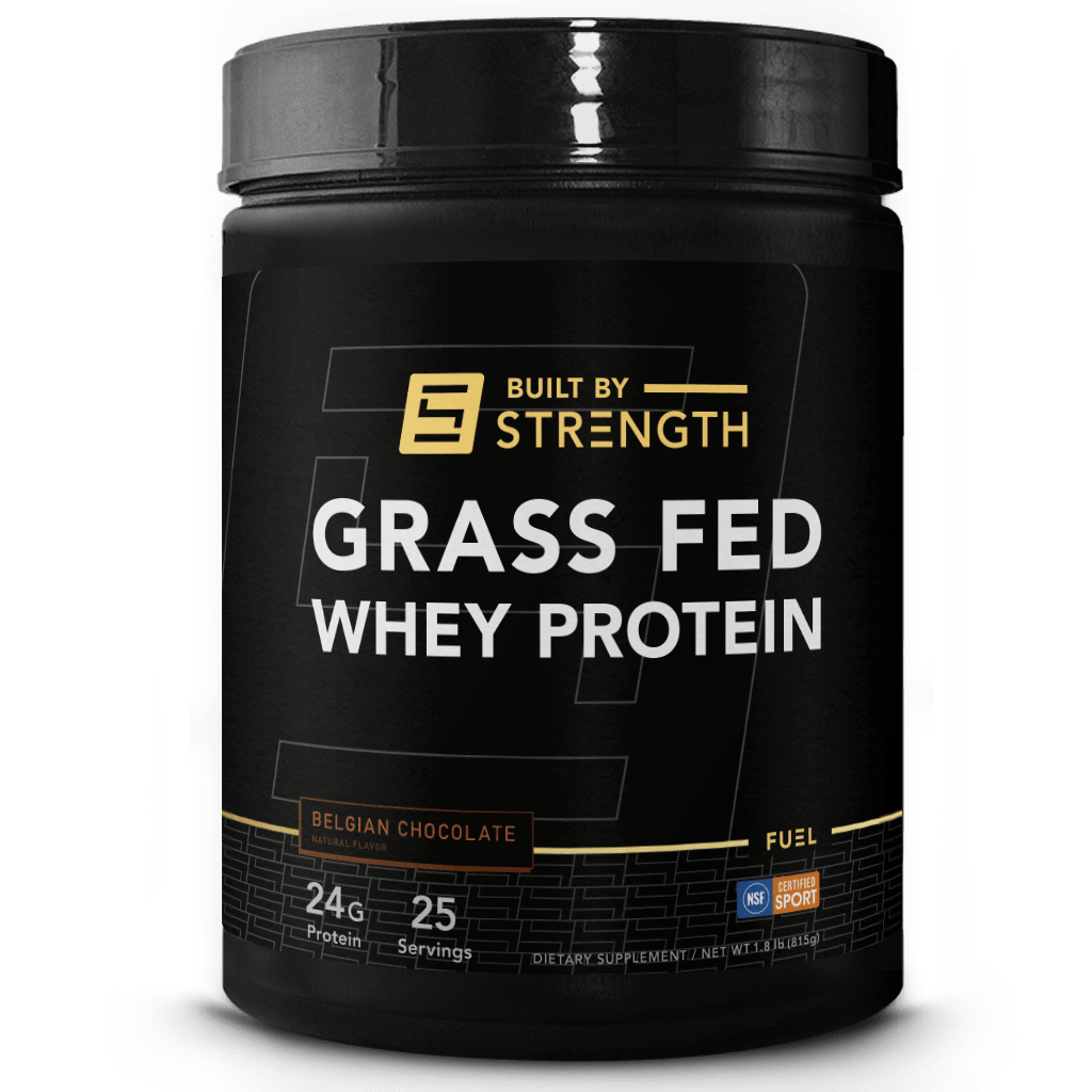 Built By Strength - Grass-fed Whey Protein