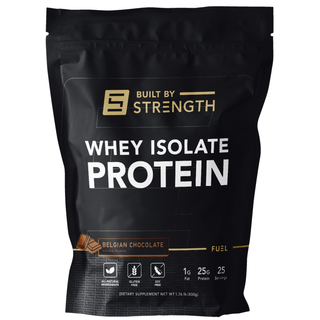 Built By Strength - Whey Isolate Protein