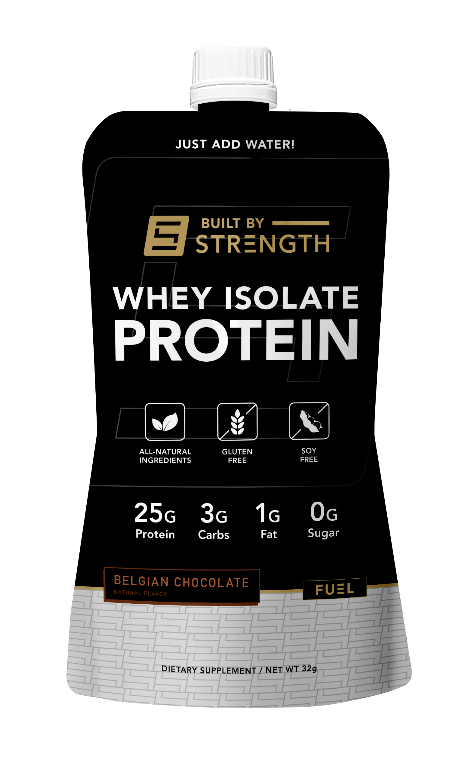 Built By Strength - Whey Isolate Ready To Mix Pouch