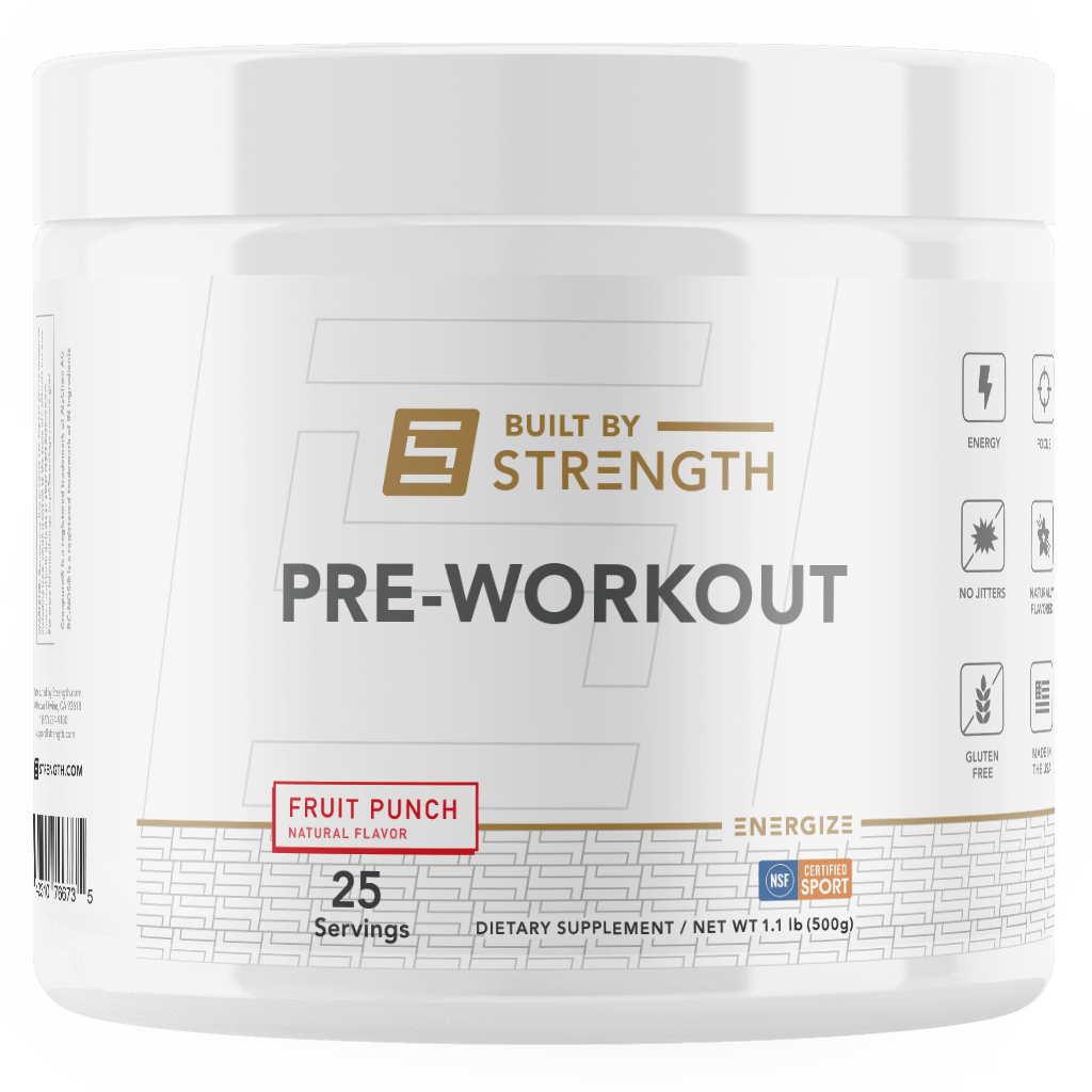 Built By Strength - Pre-workout