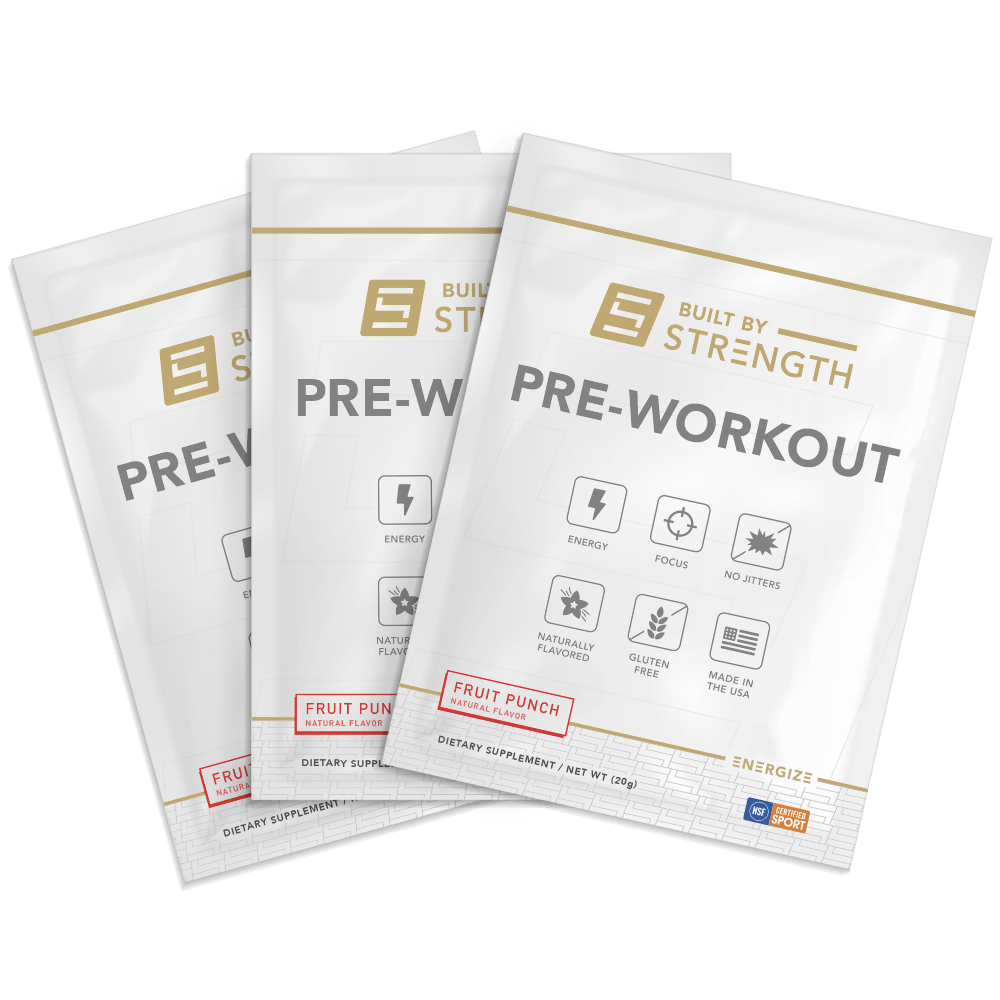 Built By Strength - 10 Pack Of Pre-workout Samples