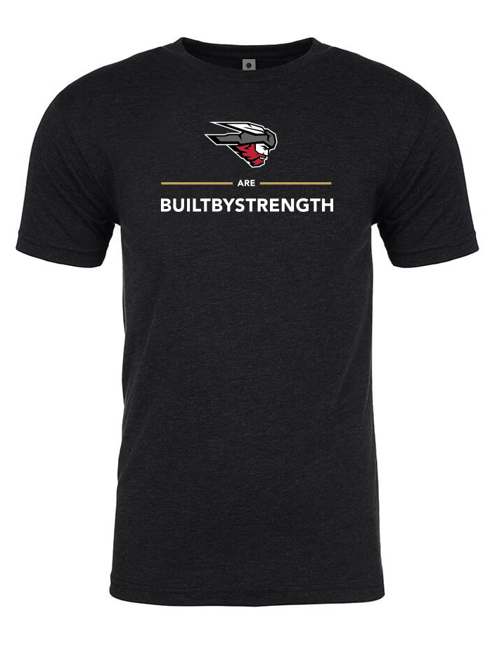 Built By Strength - Builtbystrength X Western Colorado University T-shirt