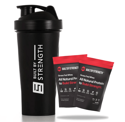 2 Pack Protein + Shaker Bundle