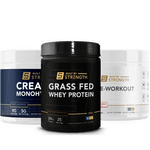 Whey Protein + Pre-workout + Creatine Stack