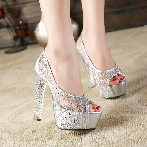 Women's shoes sexy high heels   (2)