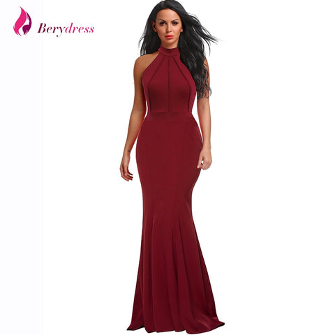 2019 Women Ruffle Long Maxi  Sexy Dress