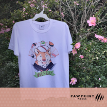 Load image into Gallery viewer, HAPS - Shiba Sushi Chef T-Shirt