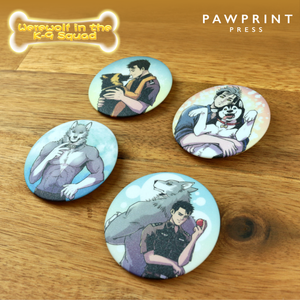 Werewolf in the K-9 Squad - Pin Set