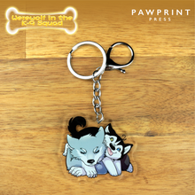 Load image into Gallery viewer, Werewolf in the K-9 Squad - Keychains