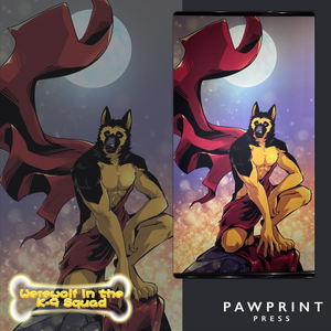 Werewolf in the K-9 Squad - Wall Scrolls