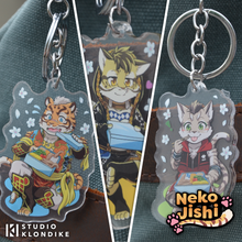 Load image into Gallery viewer, Nekojishi - Bento Keychains