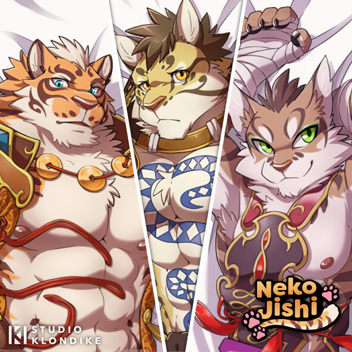 Nekojishi - Dakimakura Body Pillow Covers