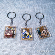 Load image into Gallery viewer, The Spicy Ninja Scrolls - Keychains