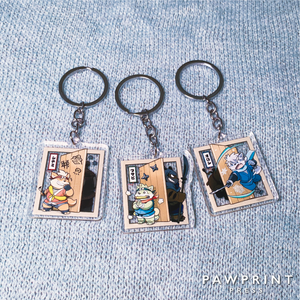 The Spicy Ninja Scrolls - Keychains