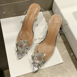Cinderella Transparent Pumps