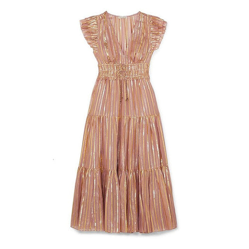 Golden Hour Midi Dress