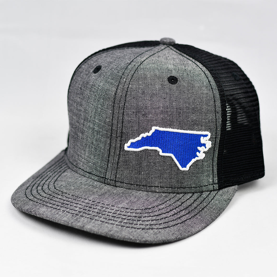 North Carolina - Blue & White