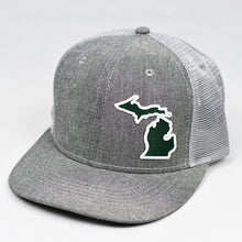 Load image into Gallery viewer, Michigan - Green & White