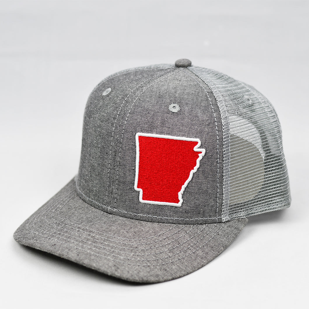 Arkansas - Red & White
