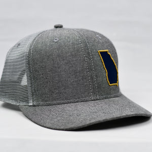 Georgia - Navy & Gold