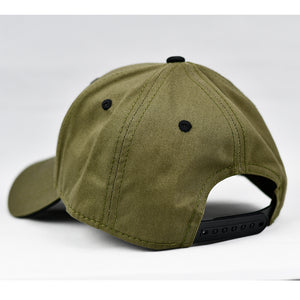 """God Bless America"" Olive Green Cap"