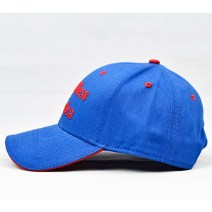 """God Bless America"" Royal Blue Cap"