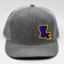 Load image into Gallery viewer, Louisiana - Purple & Gold