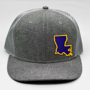 Louisiana - Purple & Gold