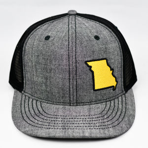 Missouri - Gold & Black